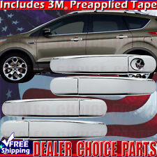 2012-2018 FOCUS 2013-2017 ESCAPE Chrome Door Handle COVERS Trim W/O Smart Key