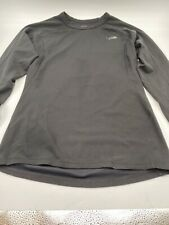 Men' The North Face Flash Dry Size M Black Long Sleeve Round Neck Shirt