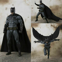 "SHF S.H.Figuarts Batman Justice League Bruce Wayne PVC Action Figure Toy 6"" New"