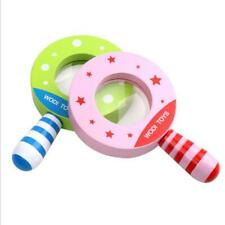 Game Early Education Baby Magnifying Glass Learning Wooden Toy Kaleidoscope HY