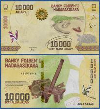 MADAGASKAR / MADAGASCAR  10000 Ariary  (2017) UNC P. NEW