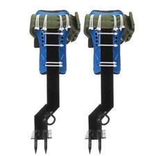 Tree Climbing Spike Set Safety Belt W/Gear Adjustable Lanyard Stainless Steel Cl