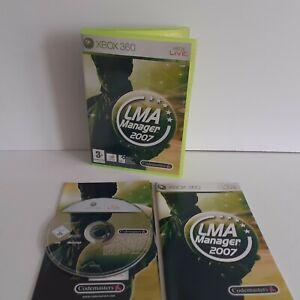 LMA Manager 2007 - Xbox 360