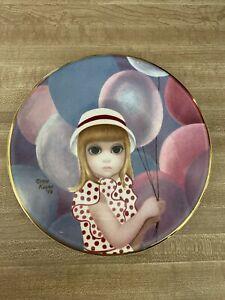 Artist Margaret Keane Collector Plate Lot Balloon Girl Big Eyes 1976