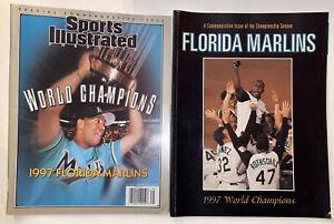 Sports Illustrated 11/12/97 Florida Marlins World Series Champs Livan Hernandez