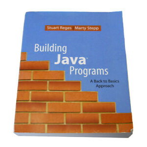 Building Java Programs: Back to Basics Approach by Reges / Stepp (Book with CD)