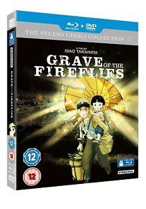 Grave Of The Fireflies (Blu-Ray + DVD) Ghibli Studios - REGION B