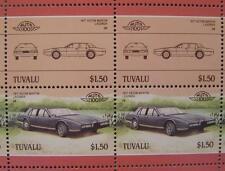 1977 ASTON MARTIN LAGONDA Car 50-Stamp Sheet / Auto 100 Leaders of the World