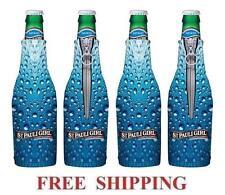 St.Pauli Girl 00006000  4 Beer Bottle Koozie Coolie Coolers Huggie New