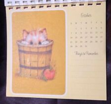 Vintage Hallmark Kitten Postcard Calendar 1973 Cute Lot of Cat Postcards