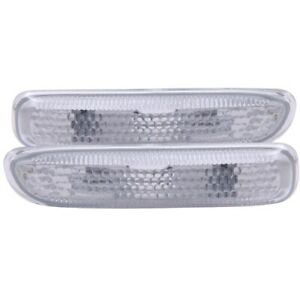 ANZO Side Marker Lights Clear for 1999-2001 BMW 3 Series