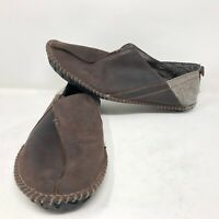 Timberland Mens Front Country Lounger Brown Moccasins Sz 12 Smartwool EarthKeep