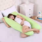9ft U Shape Pillow Case Comfort Pregnancy Maternity Body Sleep Support Nursing