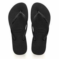 Havaianas H. Slim Glitter FC Ladies Sandal Push-Toe 4143975 0090 Black