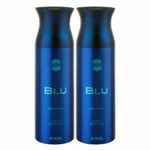 Ajmal Blu Long Lasting Deodorant For Men 200ml Each Bottle