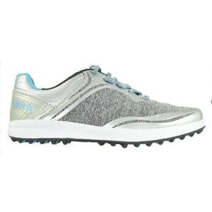 NEW Womens Etonic G-SOK Spikeless Golf Shoes Grey / Seafoam Size 6.5 M