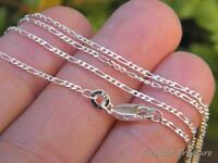 1.2mm FIGARO 3+1 Chain - 925 SOLID Silver (option length)