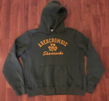 Green HEAVYWEIGHT Abercrombie Fitch Hoodie Sweatshirt Men's XL 'Shamrocks'