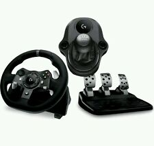 LOGITECH Driving Force G920 XBOX ONE & PC RACING WHEEL, PEDALS gearstick Bundle