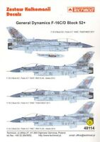 Techmod 1/48 Lockheed-Martin F-16C/F-16D Block 52+ # 48114
