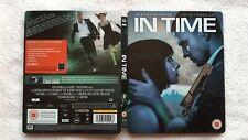 In Time  Blu-ray DVD RARE Steelbook play.com exclusive JUSTIN TIMBERLAKE SCI FI