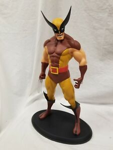 "MARVEL WOLVERINE BROWN VERSION 15"" STATUE BY ATTAKUS EXTREMELY RARE MIB! Bowen"