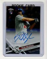 2017 Topps Chrome Rob Segedin Autograph Rookie Card #RA-RS (Los Angeles Dodgers)