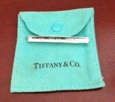 T & CO 1837 TIFFANY & CO AG925 STERLING SILVER  CLIP MONEY/TIE CLIP. W/POUCH