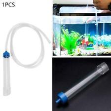 Aquarium Fish Tank Gravel Cleaner Syphon Vacuum Water Siphon Changer Best Y0Q1