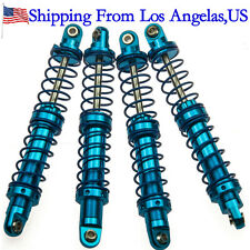 4Pcs 90mm Alloy Shock Absorbers Set for 1/10 RC AXIAL SCX10 D90 CC01 Crawler-US