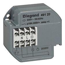 Télérupteur unipolaire encastrable 10a 230v Legrand 49120