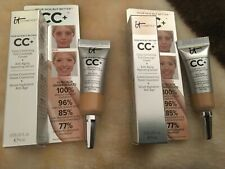 IT Cosmetics Your Skin But Better Deep CC+ SPF 50+ 4ml- Brand new boxed x 2