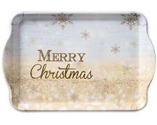 Tablett, Tray X-MAS Atmosphere 15x23cm by Ambiente | Weihnachten