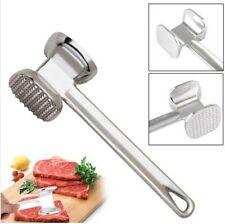 Fleischklopfer Handheld Metall Fleischhammer Fleischzartmacher Spülmaschinenfest