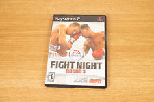 EA Sports Fight Night Round 3 PS2 Complete - With Game, Case and Manual