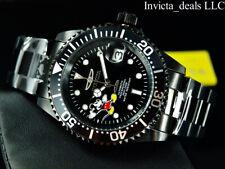 Invicta Disney® 40mm Pro Diver AUTOMATIC COMBAT Triple Black Limited Ed SS Watch