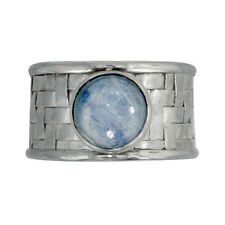 Woven Sterling Silver Size 10 Offerings Sajen Kyanite Ring with