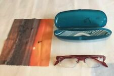 Zenni Browline Women's Red/pink Cat's Eye Rx Eyeglasses Frames Use Your Pres A1