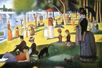 SEURAT - SUNDAY ON LA GRANDE JATTE POSTER 24x36 - 3294
