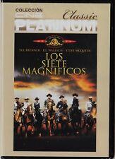 cine platinum classic: LOS SIETE MAGNÍFICOS de John Sturges.