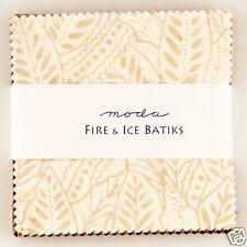Charm pack Moda Fire & Ice Batiks 42 five inch batik cotton squares #4334PP