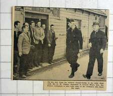 1957 Geevor Mine, Mr Gw Simms, Chairman With Prince Philip