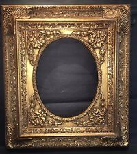 GOLD Ornate OVAL Opening Baroque Readymade Picture FRAME 8x10 Home Decor NEW