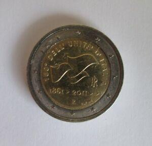 2 Euro commémorative ITALIE 2011