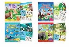 B-Kids Children's Sticker Activity Books Each Containing Over 70 Reusable.