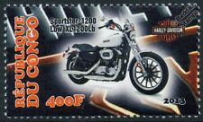 Harley Davidson Sportster XL1200 Low Motorbike Bike Motorcycle Stamp