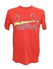 Majestic Youth XL Red St Louis Cardinals Skip Schumaker Jersey Shirt