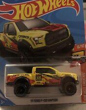 Hot Wheels Hot Trucks - '17 Ford F-150 Raptor, Yellow, 6/10
