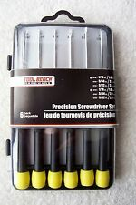 Precision Screwdriver Set (6 pack) by Tool Bench Hardware   New!!!