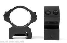 Hawke 22116 Ringmontage 30mm für Weaver Schiene mittel